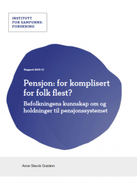 Pensjon: for komplisert for folk flest?